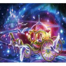 Princess Carriage 5D Diamond DIY Embroidery Painting Cross Stitch Kit Decoration
