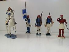 Lot Figurines  personnages  - 5 GRECS AOHNA grece -    no STARLUX no elastolin