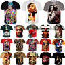 Singer Tupac Shakur 2PAC Print Women Men 3D T-Shirt Tee Casual Short Sleeve Tops