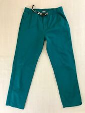 Retro Chums Webbing Belt Outdoor Casual Pants With Pockets Men's Size Large