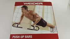 Weider Push-up Bars Arms, Shoulders and Chest