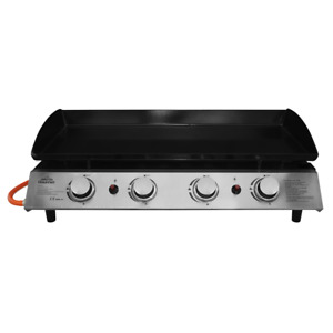Dellonda 4 Burner Gas Stainless Plancha Grill BBQ Camping Portable Griddle 10KW