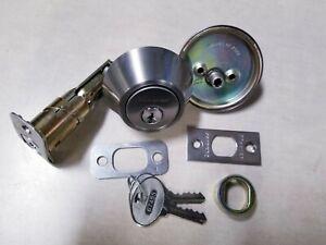 MASTER LOCK DS0615KA4S Deadbolt,Satin Nickel,Single Cylinder