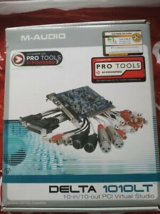 M-Audio Delta PCI DELTA 1010LT Sound Card once used