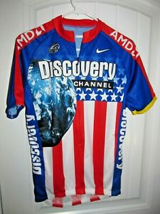 Discovery Channel - Nike Cycling / Bike jersey - Adult Medium
