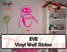 EVE (WALL-E) Pixar Cartoon logo Wall Vinyl Sticker