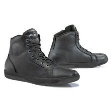 Forma Slam Dry motorcycle boots, mens, black, urban city street riding leather