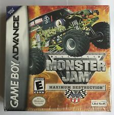 GBA Monster Jam: Maximum Destruction (2002), Brand New & Factory Sealed