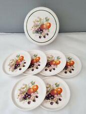 More details for johnson brothers fresh fruit melamine coasters