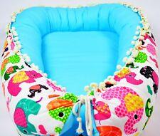 Baby Nest Turquoise Babynest Newborn Baby Shower Gift Baby Boy Girl Baby Bed Cot