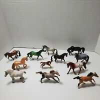 Breyer Stablemates Lot, 12 Horses & 1 Foal Vintage, Excellent Preowned Condition
