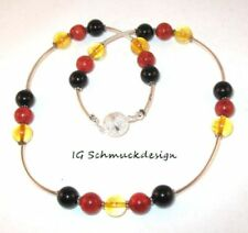 Handgefertigte Modeschmuck-Halsketten ohne Stein