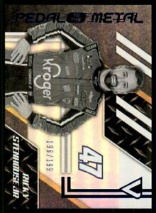 2020 Panini Victory Lane Pedal to the Metal Blue #2 Ricky Stenhouse Jr /199