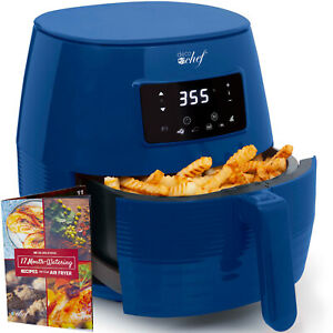 Deco Chef Digital 5.8QT Electric Air Fryer   Healthier and Faster Cooking