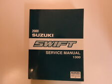 2000 Suzuki Swift 1300 Service Repair Shop Manual FACTORY OEM NEW 00 BOOK x