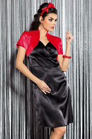 New Women Wedding Satin Prom Jacket Stole Bolero Shrug Short Sleeve UK Size 6-20