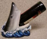 Wine Bottle Holder and/or Decorative Sculpture Shark NEW