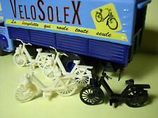4  SOLEX   FIGURINE  1/43   SET 110   CAMIONS  D'AUTREFOIS   VROOM   A  PEINDRE