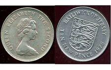 ROYAUME UNI (  jersey ) 10    ten  new pence 1975