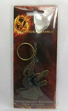 The Hunger Games Cutout Mockingjay with Arrow Metal Keychain Keyring NECA *New