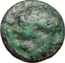 Rhodes off Caria 394BC Rare Ancient Greek Coin Nymph Rhodos Rose i27641