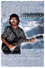 Silent Beatles: George Harrison * Cloud Nine * Promotional Poster 1987