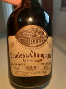 Taittinger Comtes De Champagne 1961 - Rarity