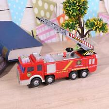 Electric Fire Truck Water Spray Fire Engine Car Toy Kids Educational Toys Gifts