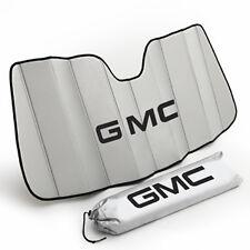 14-18 GMC Sierra Windshield Sunshade Pkg 22987431 Silver w/ Logo w/ Lane Assist