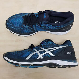 ASICS Mens Size EUR 46.5 or US 12 Gel Nimbus 20 Sneakers Shoes