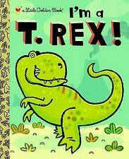 I'm a T. Rex! (Little Golden Book)-ExLibrary