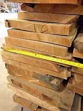 Waney edge Oak Boards Kiln Dried rough sawn planks  52mm wide 10ft3 inc vat&del