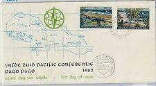 62445  - DUTCH NEW GUINEA - POSTAL HISTORY - FDC COVER 19762: PALM TREES