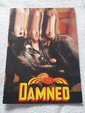 THE DAMNED  *  ANYTHING TOUR 1987  Vintage Concert Programme