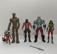 Marvel Guardians of The Galaxy 2015 Hasbro Action figures Lot of 5