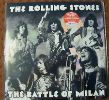 """ROLLING STONES """"THE BATTLE OF MILAN""""DOUBLE RED180 GR VINYL PALALIDO 1970 174/500"""