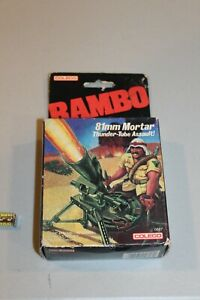 SEALED 1985 Rambo Coleco 81mm Mortar Thunder-Tube Assault New NOS NEW Movie Toy