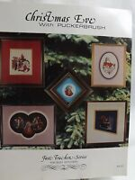 Christmas Eve With Puckerbrush Cross Stitch Pattern Booklet 1985