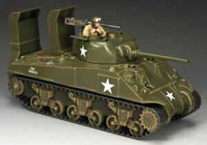 King & Country D-DAY KNC001 D DAY SHERMAN TANK SET - New in Box!
