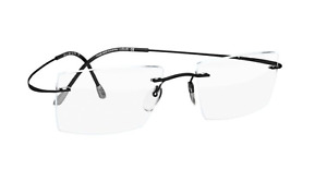 New Silhouette Rimless Eyeglasses Titan Minimal Art The Must Collection Frames