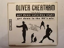 Maxi CD Oliver Cheatham- get down in the 90´s mix