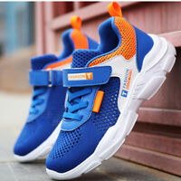Boys Girls Kids Sports Athletic Running  Mesh Casual Shoes School Shoes Sneakers