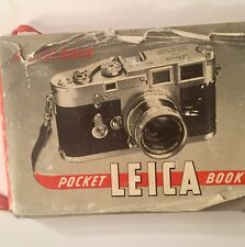 Vintage Pocket Kasselbach Leica Book, 3rd Edition, 1955 with Dust Jacket