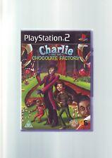 Charlie and the Chocolate Factory-Niño Niño PS2 Juego-Original y completo en muy buena condición
