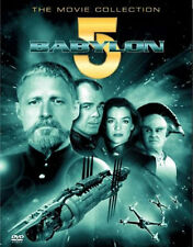 BABYLON 5 MOVIE BOX SET THIRDSPACE/RIVER OF SOULS/A CALL TO ARMS DVD UK New R2