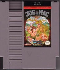 JOE AND MAC & NINTENDO GAME ORIGINAL CLASSIC NES HQ