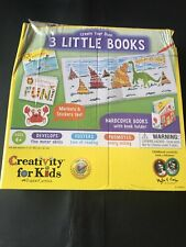 Creativity For Kids Create Your Own 3 Bitty Books #1094, New, Damaged Box (t)