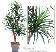 6' Yucca x5 Artificial Tropical Tree Silk Plant NEW, with No Pot