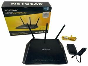 Netgear Nighthawk WiFi Router Speed Up to 1750 Mbps Smart R6700