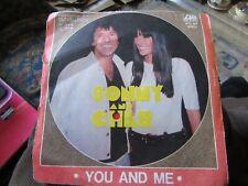 "Sonny & Cher, ""You and Me/Good Combination"" (Rare Italian vinyl single)"